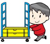 大型ショッピングモール内での郵送品の配達♪ 未経験者大歓迎!! お給料は全額週払い対応中・週4日~の出勤OKですよ! ・勤務時間などご相談ください☆